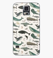 Whale Song Case/Skin for Samsung Galaxy