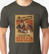 Bitcoin - Are You Saving for the Children? T-Shirt