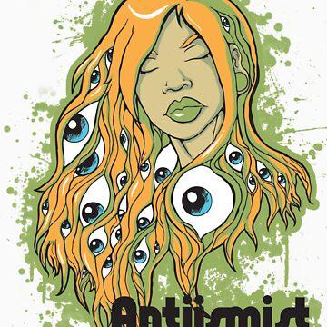 It's in her eyes  by Antiismist