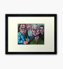 Four Horsemen Framed Print