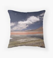 red, white, and blue II Throw Pillow