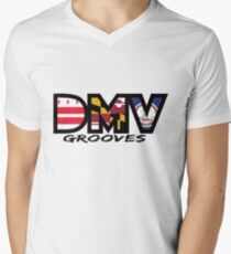 DMV Gooves Men's V-Neck T-Shirt