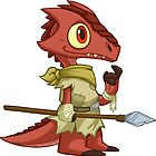 Tiny Kobold - Cute D&D Adventures by kickgirl