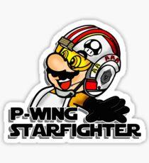 P-Wing Starfighter Sticker