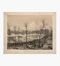 American Civil War: The Battle of Shiloh by Alfred Edward Mathews (1862) Photographic Print