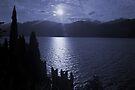 Lago di Garda, in blue by Lenka