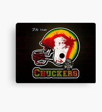 Chuckers (Print Version) Canvas Print