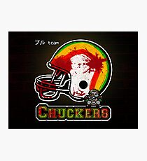 Chuckers (Print Version) Photographic Print