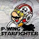 P-Wing Starfighter (Print Version) by Rodrigo Marckezini