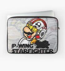 P-Wing Starfighter (Print Version) Laptop Sleeve