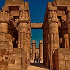 Egypt. Luxor. Luxor Temple. Hypostyle Hall. by vadim19