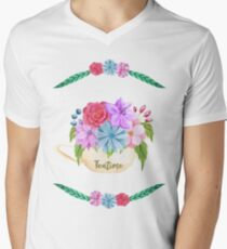 TeaTime Men's V-Neck T-Shirt