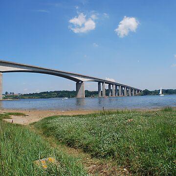 Orwell Bridge by Jdn1000