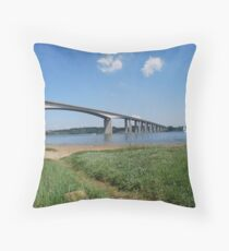Orwell Bridge Throw Pillow