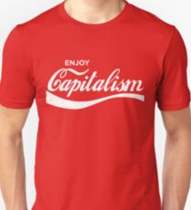 4a7fcc508be7 Enjoy Capitalism T-Shirts | Redbubble