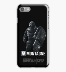 R6 - Montagne | Operator Series iPhone Case/Skin