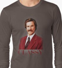 ANCHORMAN - The Legend of Ron Burgundy. Long Sleeve T-Shirt
