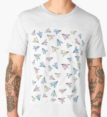 Pastel airplanes Men's Premium T-Shirt