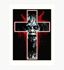 Regan- the Exorcist Art Print