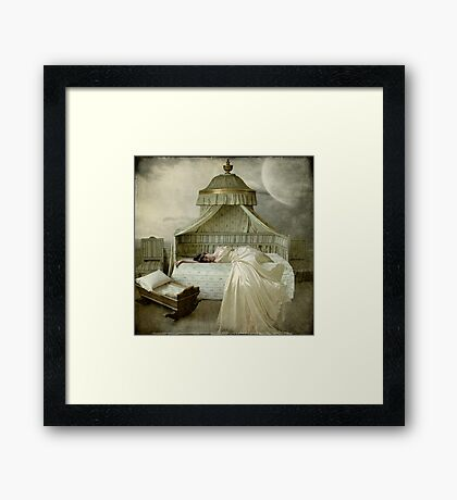 Missing... Framed Print