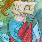 mermaids embrace by Wendy Crouch
