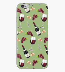 Wine Pattern iPhone Case