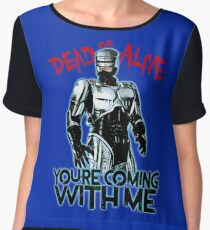 Robocop Women's Chiffon Top