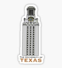 ut austin tower Sticker
