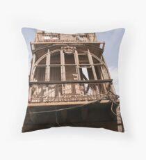 Frontal facade Throw Pillow