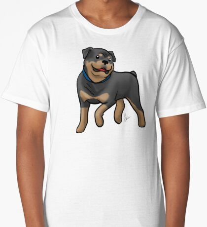 Rottweiler  Long T-Shirt
