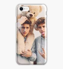 twins teddy  iPhone Case/Skin