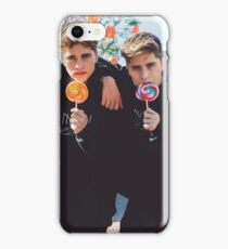 lolly pop twins iPhone Case/Skin