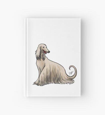 Afghan Hound Hardcover Journal