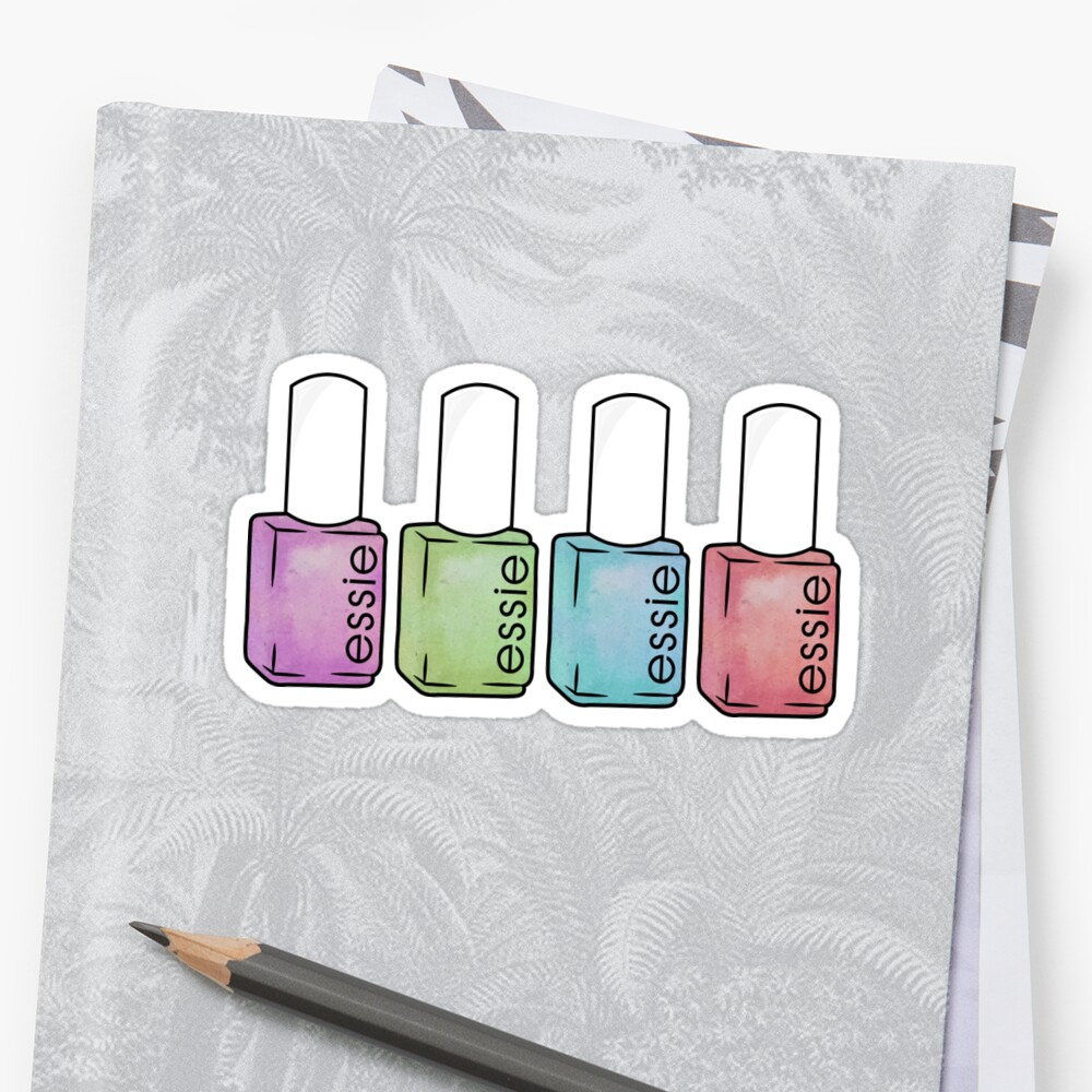 Essie Nail Polish Sticker\