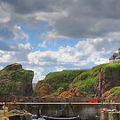 St. Abbs Harbour II by Tom Gomez