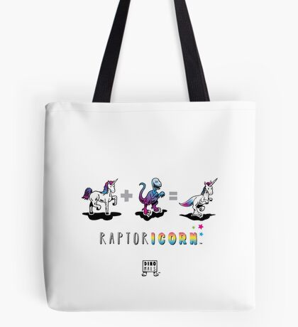 RAPTORICORN™: Math Tote Bag