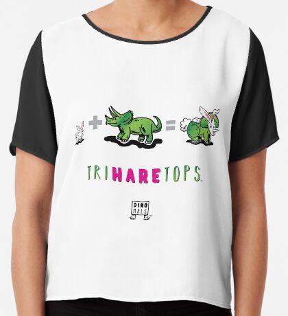 TRIHARETOPS™: MATH Chiffon Top