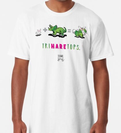 TRIHARETOPS™: MATH Long T-Shirt