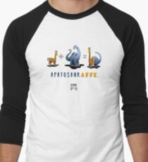 APATOSAURAFFE™: MATH Men's Baseball ¾ T-Shirt