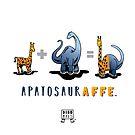 APATOSAURAFFE™: MATH by Dinomals