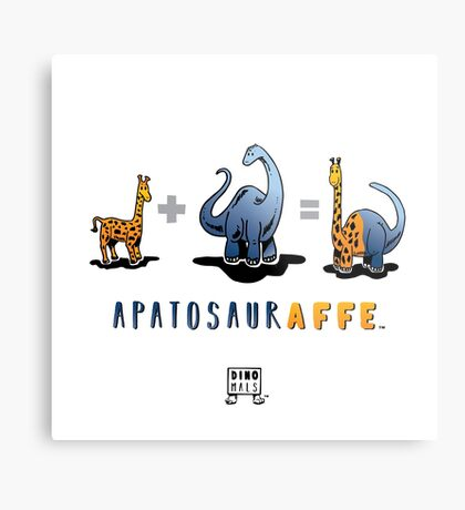 APATOSAURAFFE™: MATH Metal Print