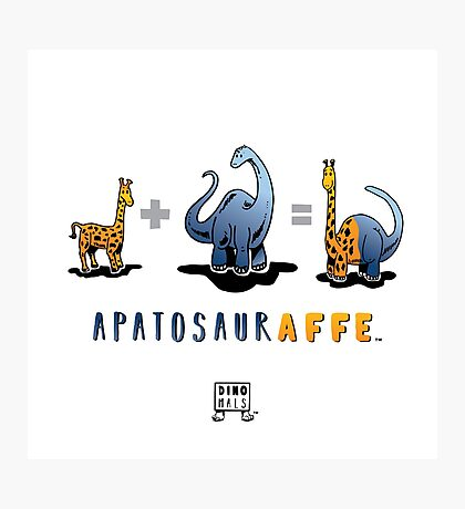 APATOSAURAFFE™: MATH Photographic Print