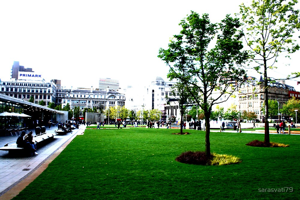Piccadilly Gardens - HC by sarasvati79