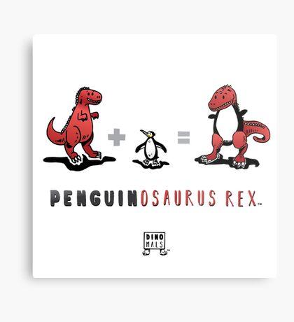 PENGUINOSAURUS REX™: MATH Metal Print