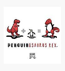 PENGUINOSAURUS REX™: MATH Photographic Print