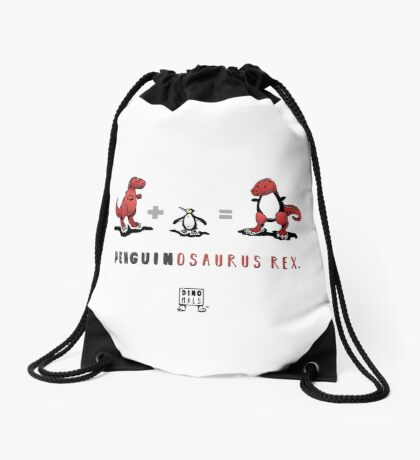 PENGUINOSAURUS REX™: MATH Drawstring Bag