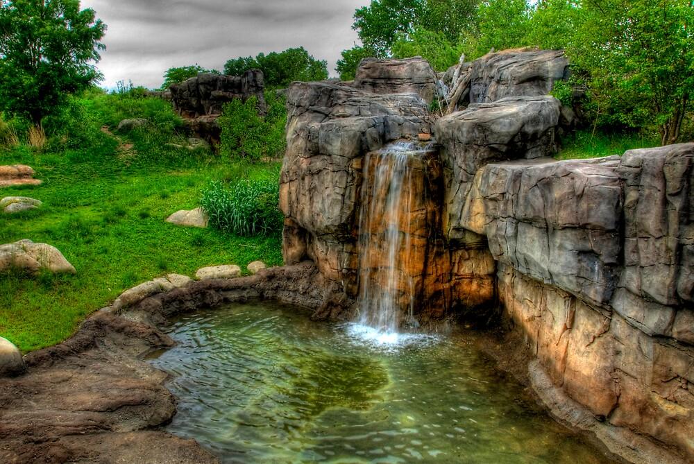 Mini Falls by Robert Serpan