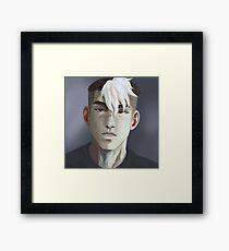 Voltron Shiro portrait Framed Print
