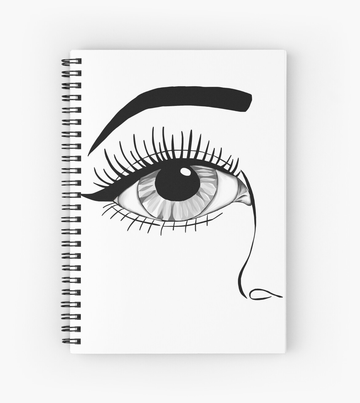 Tumblr Eye Spiral Notebooks By Empowering Redbubble