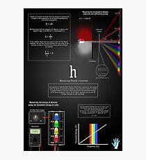Measuring Planck's Constant Photographic Print